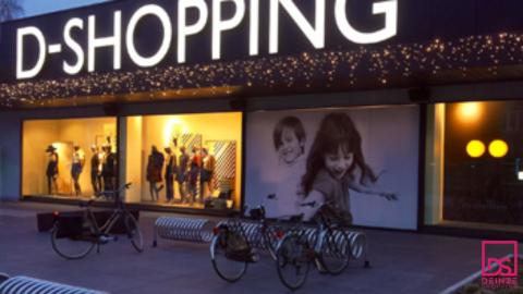 Voor wie met de fiets naar Deinzeshopping kan gebruik maken van de gratis fietsenstalling.